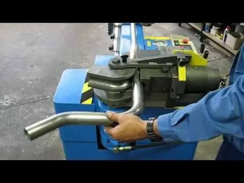 Вальцовка трубы из нержавеющей стали